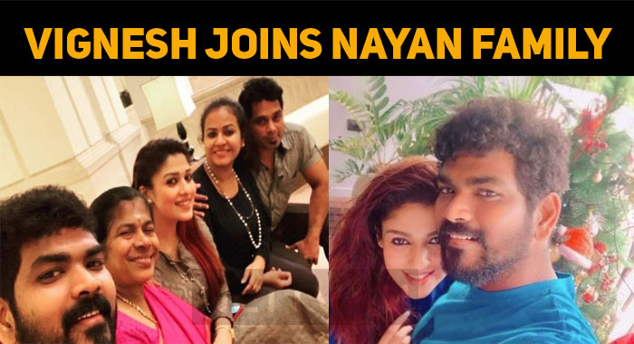 Vignesh Shivan Joins Nayan Family For Vishu!