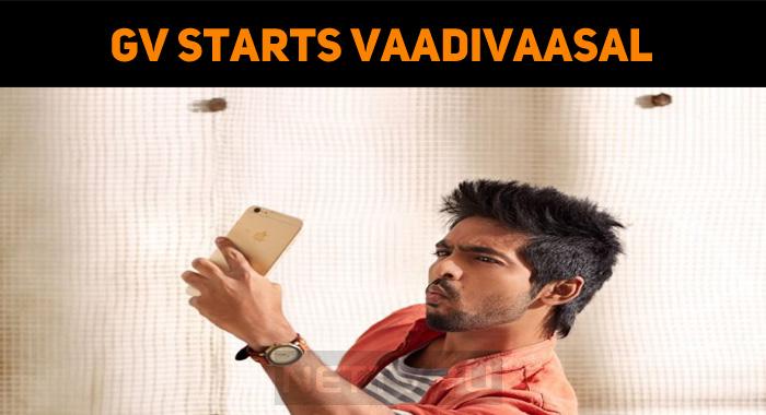 Yet Another Maara Kind From GV Prakash? Vaadivaasal Music Making Started!