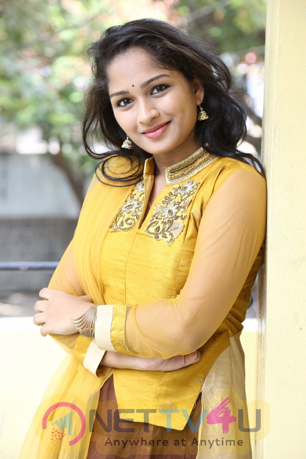 Actress Ambika Stills Came To Geethapuri Colony Movie Press Meet