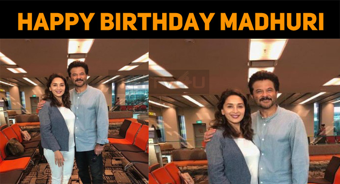 Madhuri Dixit Celebrates Her Birthday, Today!