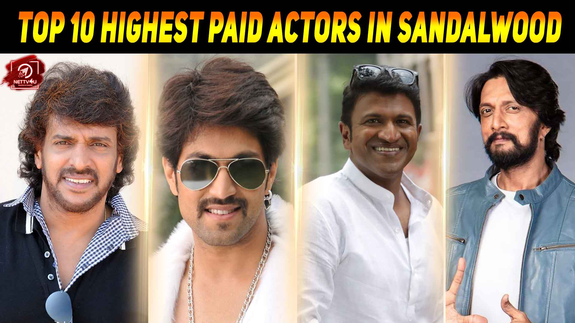 These Are The Highest Paid Actors In Sandalwood Film