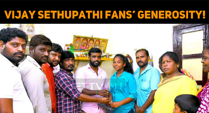 Vijay Sethupathi Fans' Generosity!