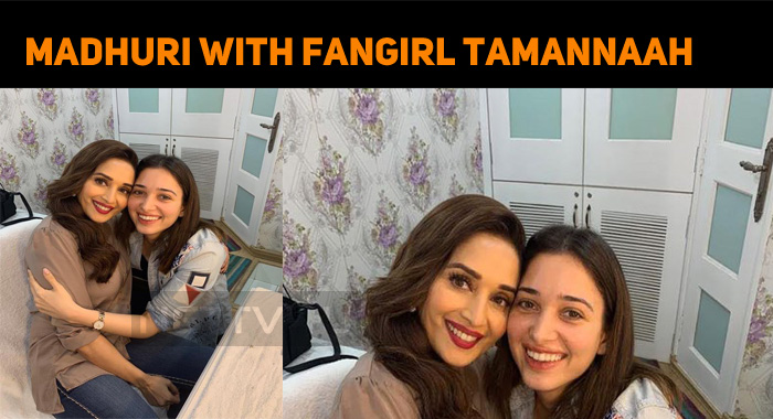 The Fangirl In Tamannaah Jumps Out!