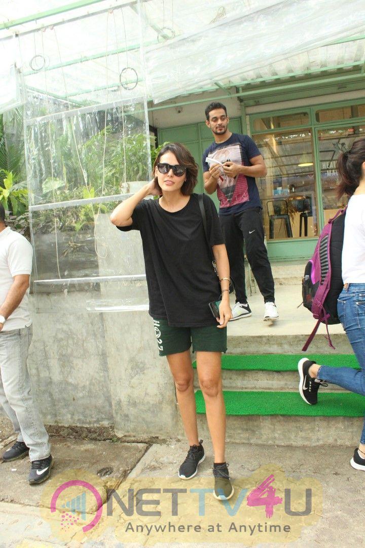 Mandana Karimi Spotted At Kitchen Garden In Bandra Images
