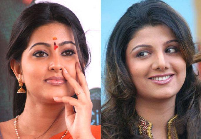 Sneha And Rambha In Bigg Boss!