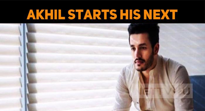 Akhil Starts His Next!