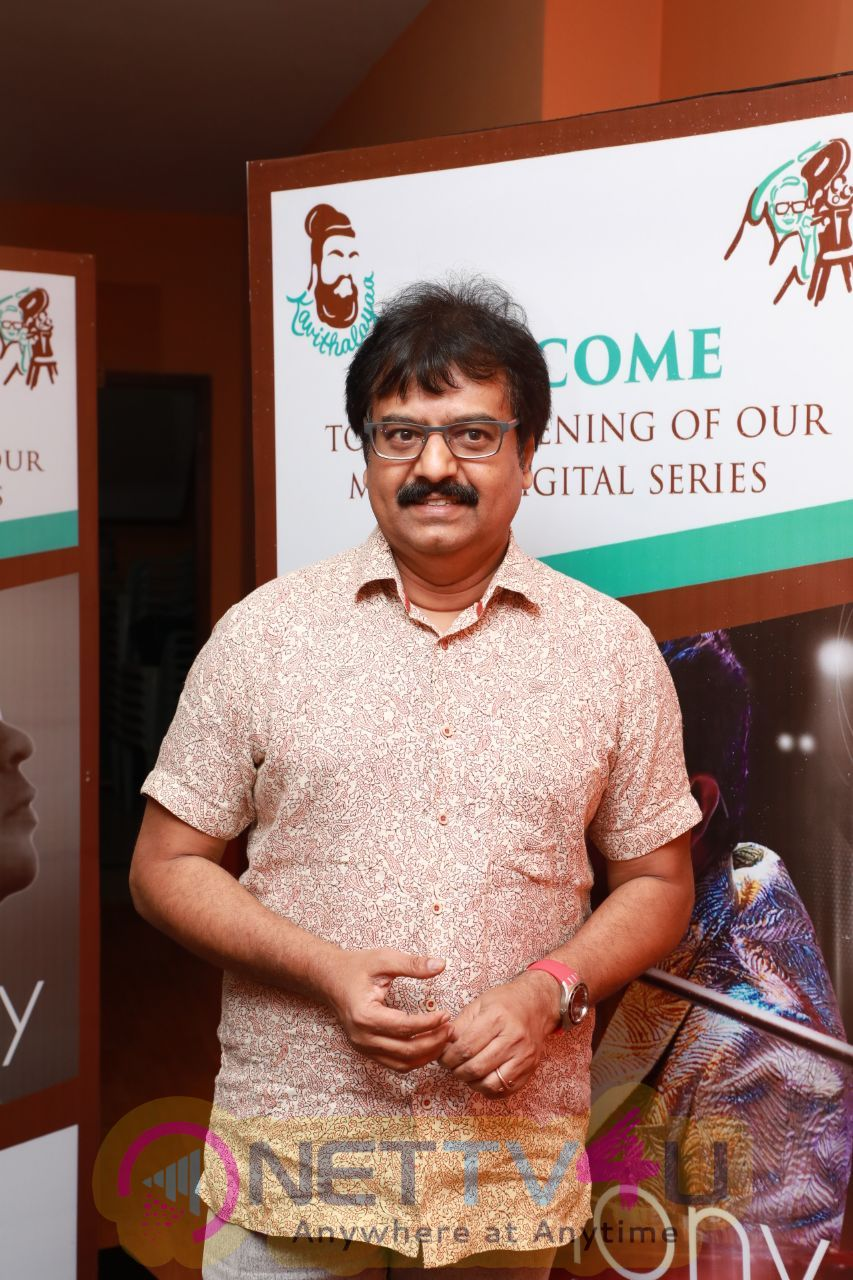 Actor Vivek At The Screening Of The Maiden Digital Series Harmony With A R Rahman Pics