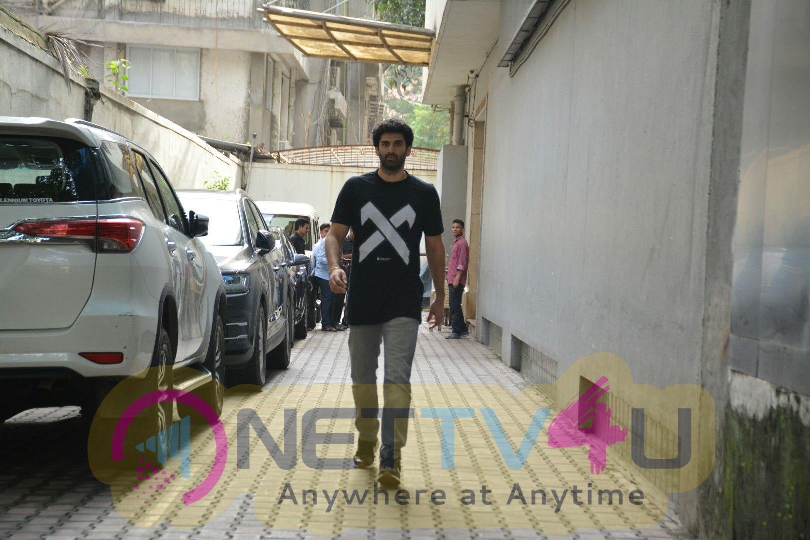 Aditya Roy Kapur Came To Dubbing Studio Pictures