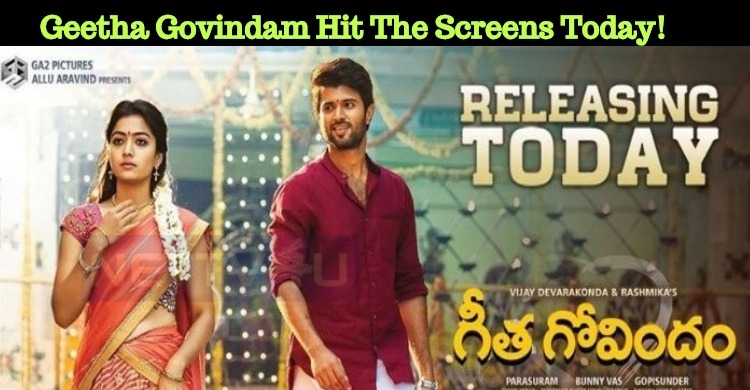 Inkem Inkem Movie Geetha Govindam Hit The Screens Today!