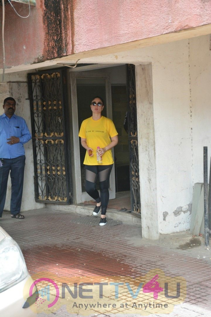Kareena Kapoor Spot In Pilates Gym