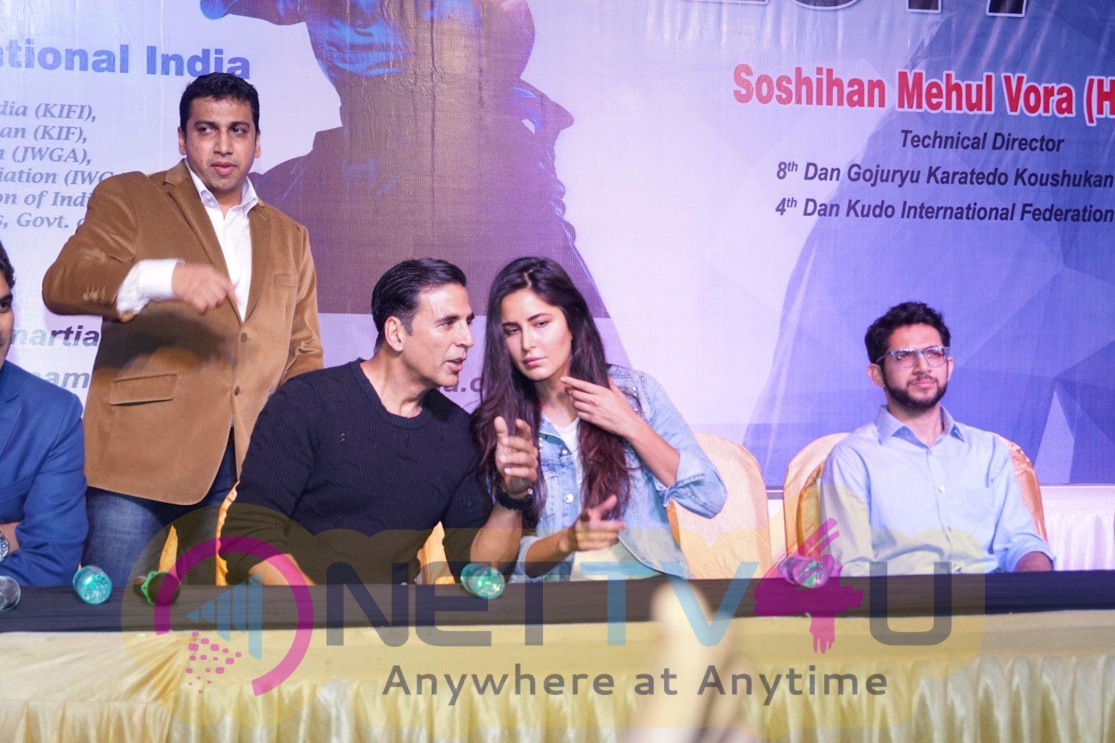 Worlds Biggest Kudo Tournament With Akshay Kumar, Katrina Kaif & Aditya Thackeray Stills Hindi Gallery