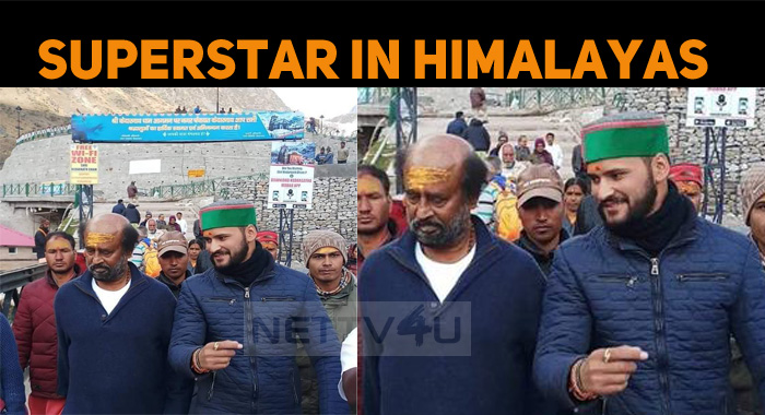 Latest Image Of Superstar From Himalayas Is Out..