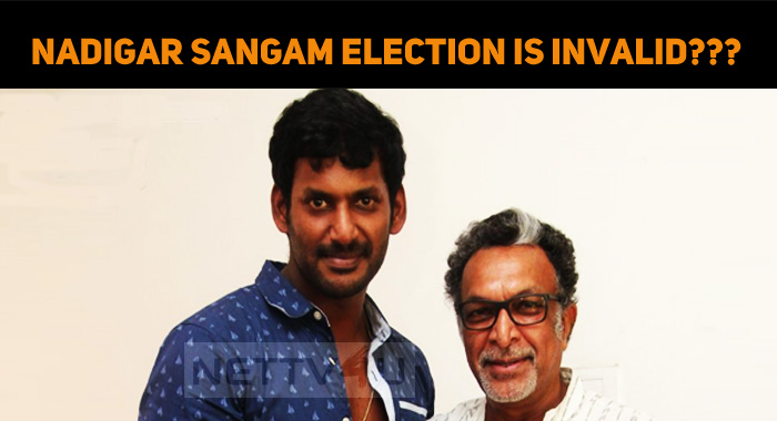 Nadigar Sangam Election Is Invalid - Tamilnadu ..