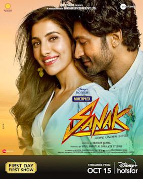 Sanak Movie Review