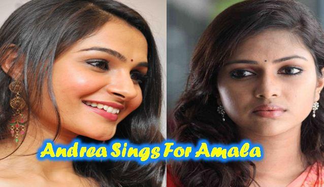 Andrea Lends Her Voice To Amala Paul In Bhaskar Oru Rascal!