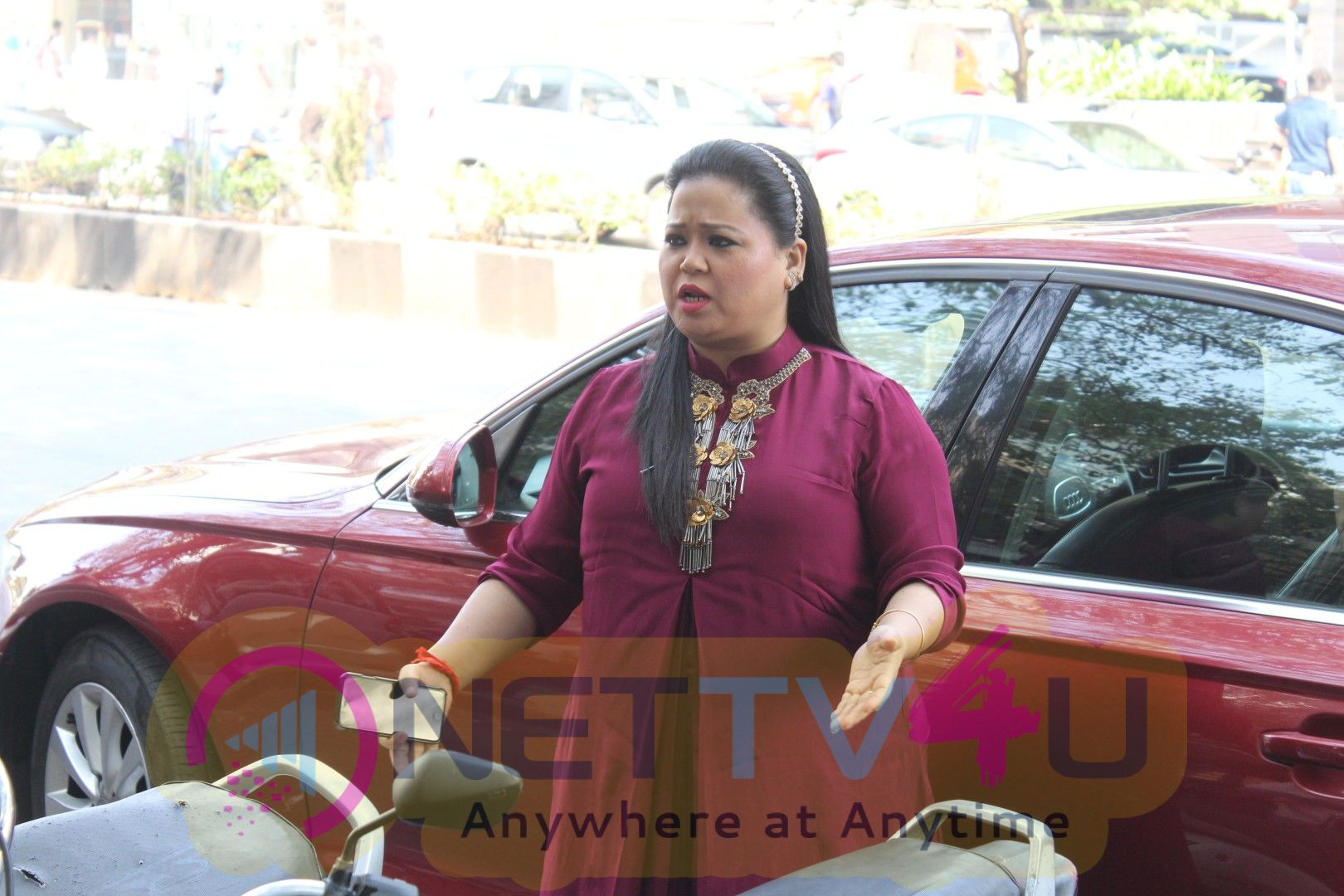 Harsh Limbachiyaa & Bharti Singh Visit Neeta Lulla Store For Wedding Preparations Stills