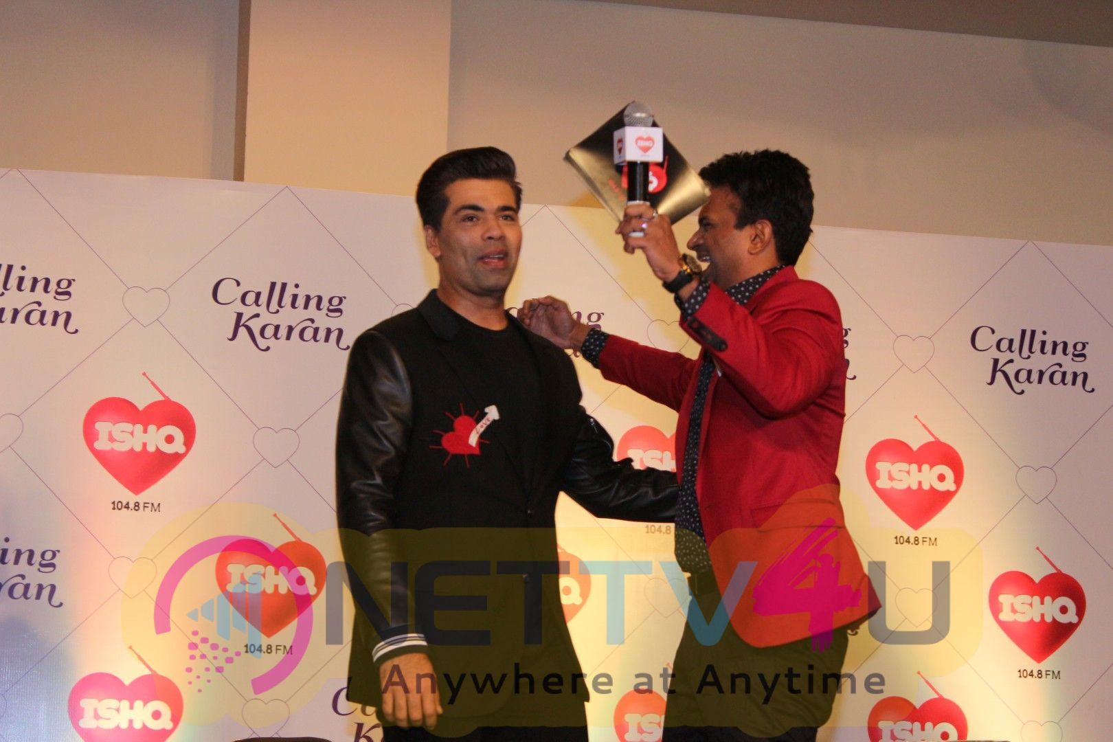 Ishq Fm Launch Radio Show Calling Karan With Karan Johar Images