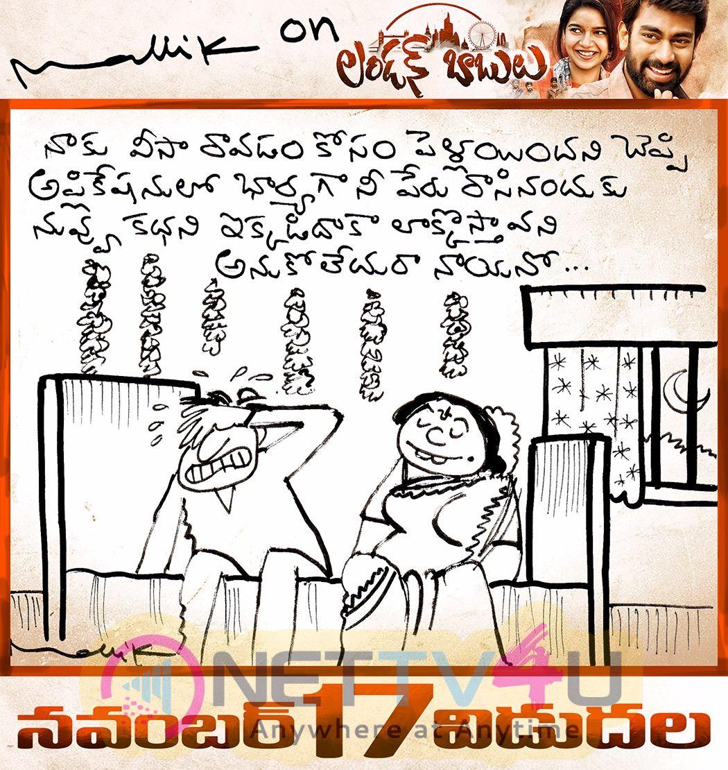 London Babulu Release Date Cartoon Posters