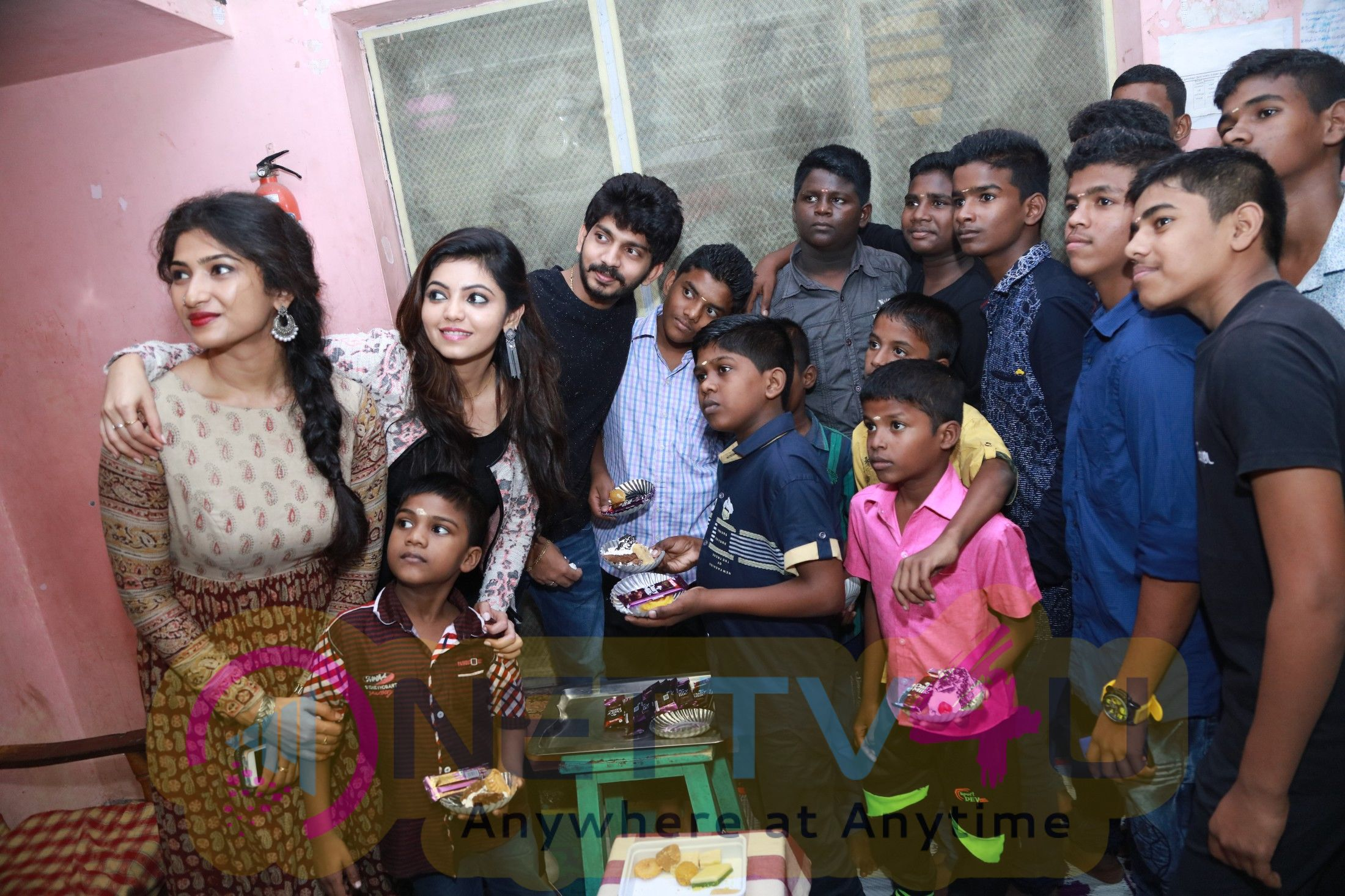 Yemaali Movie Team Childrens Day Celebration Photos