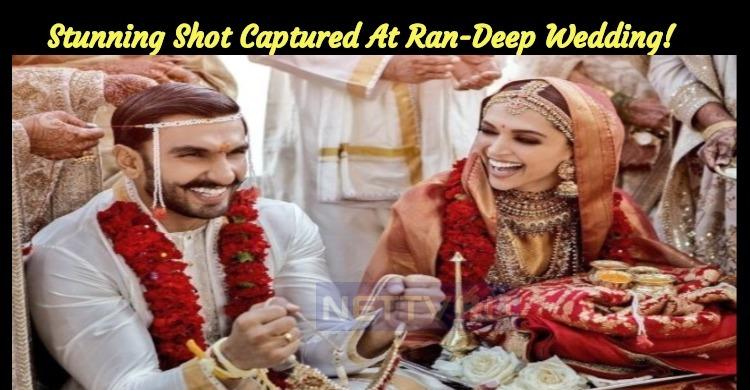 Stunning Shot Captured At Randeep Wedding!