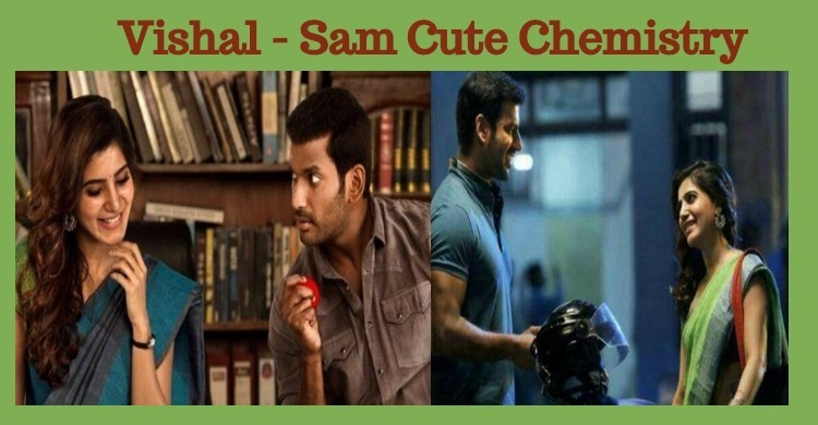 Vishal And Samantha Look Great In IT Stills!