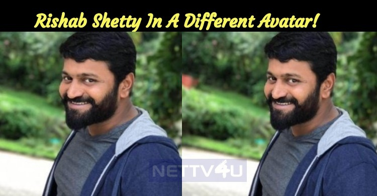 Rishab Shetty In A Different Avatar!