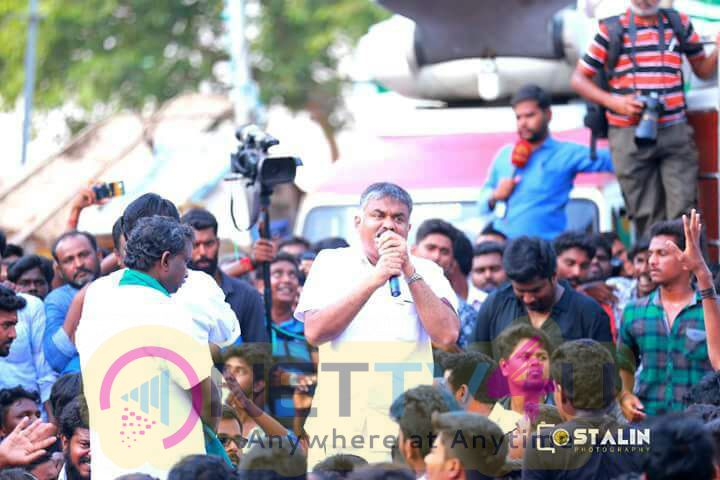 Hip Hop Tamizha At Alanganallur Jallikattu Recent Stills