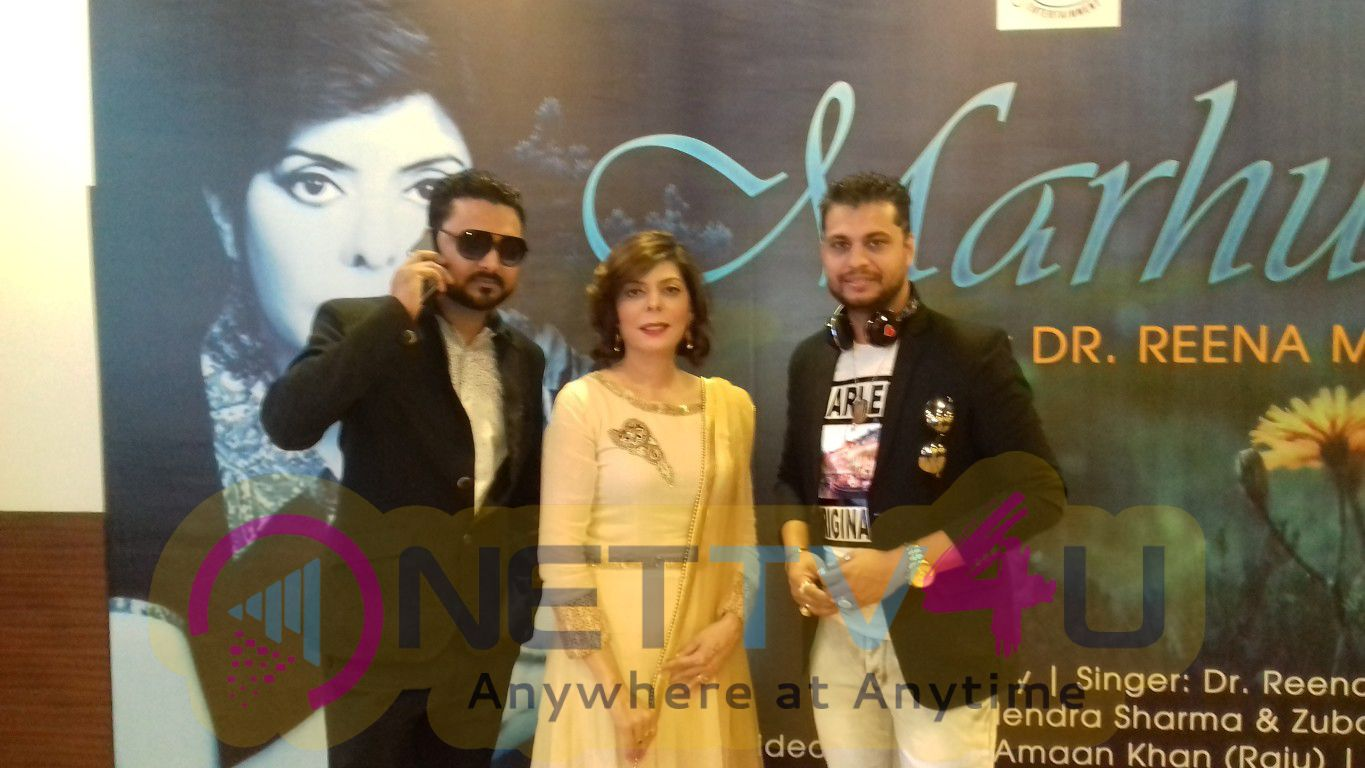 Singer Aamir Shaikh At The Launch Of Music Album