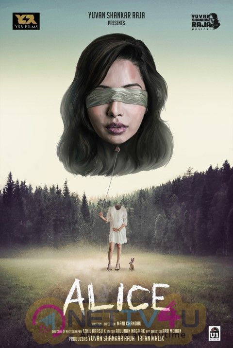Alice 1st Look Poster Yuvan Shankar Raja Production In Raiza Wilson