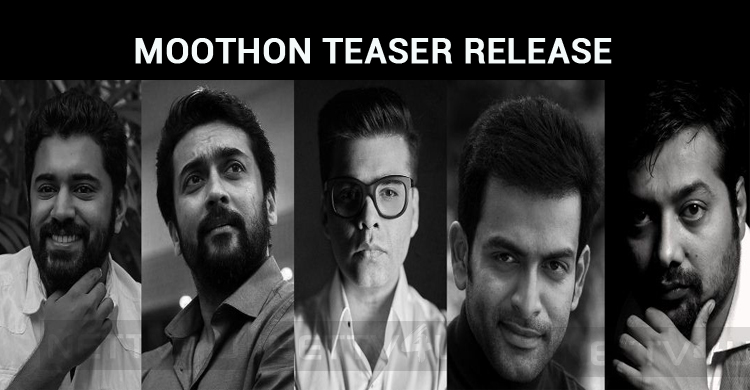 Moothon Teaser Release By Biggies!
