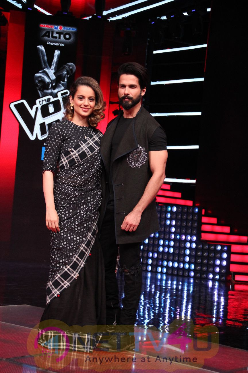 Rangooning On The Sets Of The Voice India Season 2 Stills
