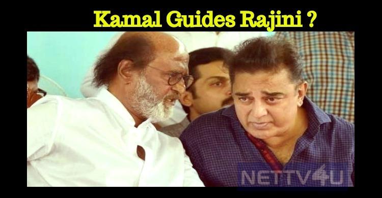Rajini To Follow Kamal's Path!