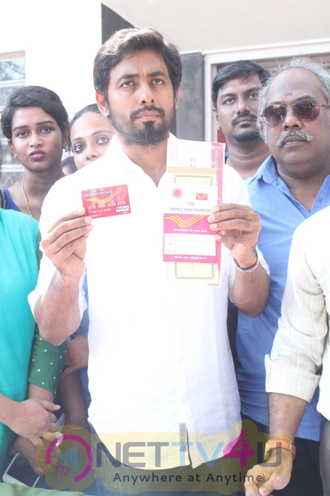 Maaruvom Maatruvom Actor Aari Event Stills