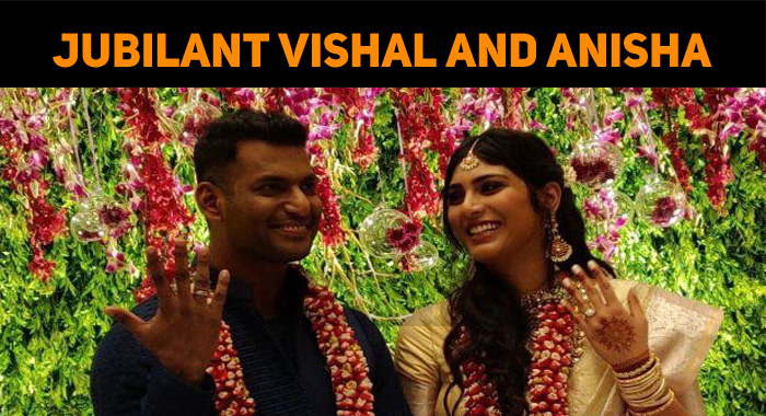 Jubilant Vishal After Getting Engaged!