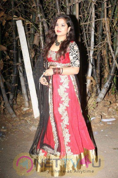 Sirisha Darasi Hot And Sexy Pics In Red Outfit