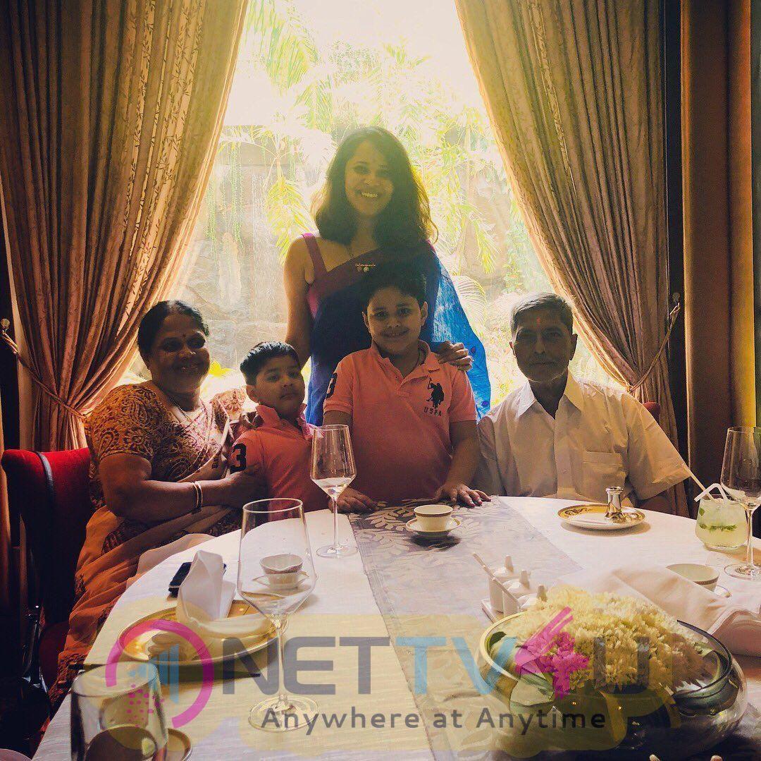 Anchor Anasuya Birthday Celebration Images Telugu Gallery