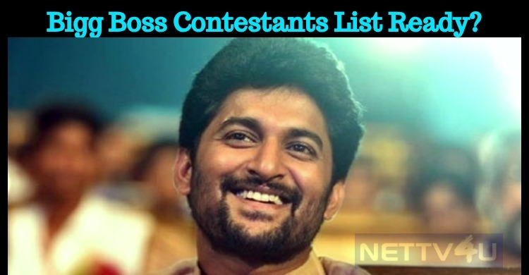Bigg Boss Contestants List Ready?