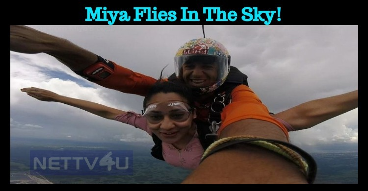 Miya Flies In The Sky!