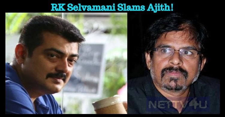RK Selvamani Slams Ajith! Tamil News