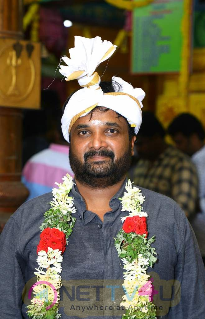 Actor Sivakarthikeyan New Film Pooja Images