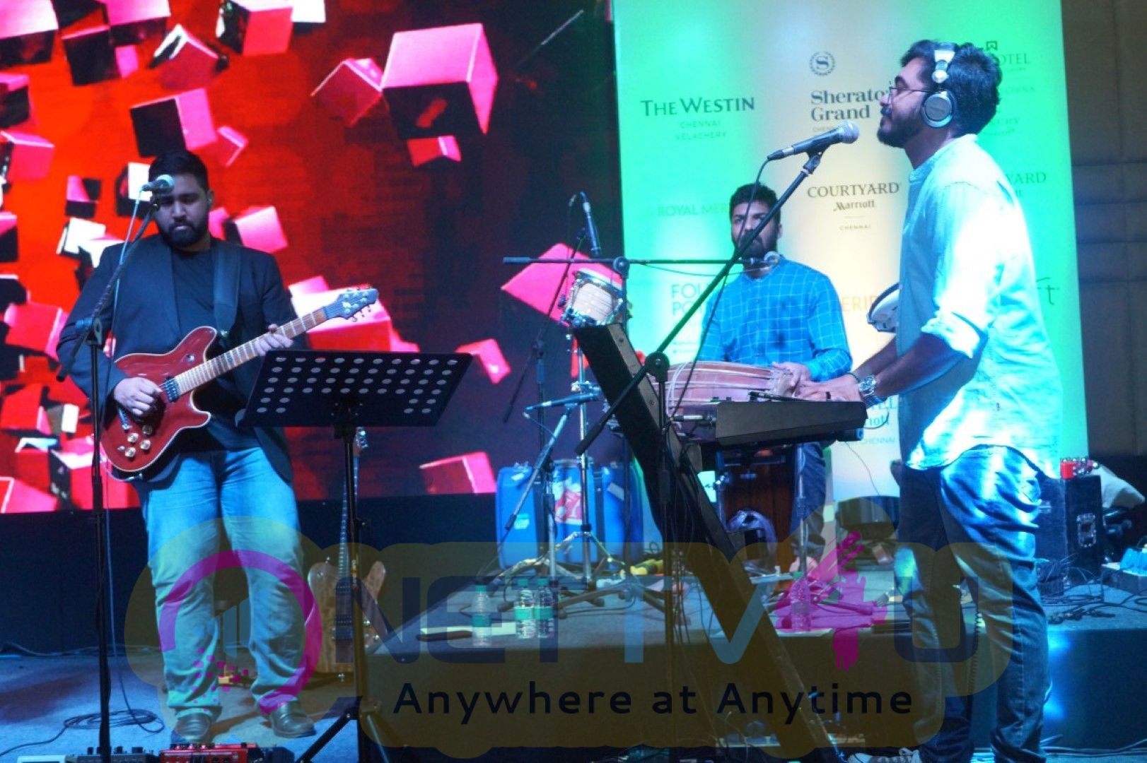 Marriot International Conducted An Opportunistic Meet At  Westin Hotel Velachery Along With A Soulful Music By Karthick Iyers  IndoSoul Band Event  Images