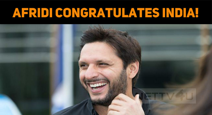 Even Before The Umpires Announce… It's Afridi T..