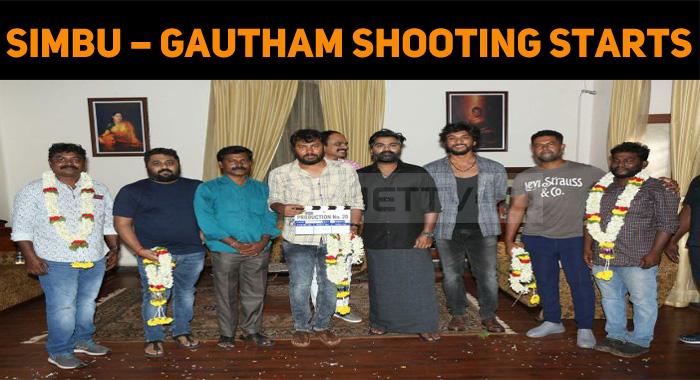 Simbu – Gautham Karthik Shooting Started!
