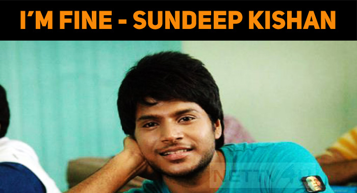Sundeep Kishan Supports The Action Choreographe..