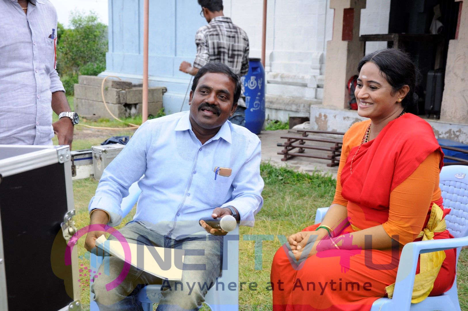 Egantham Movie Working Stills Images