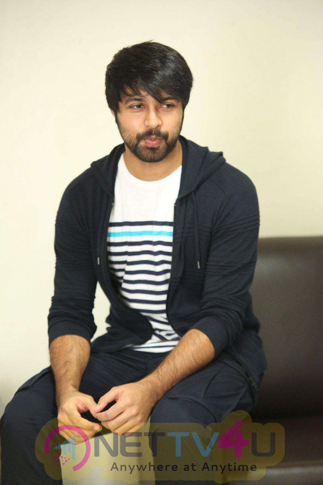 Vijetha Movie Hero Kalyan Dev  Interview Stills