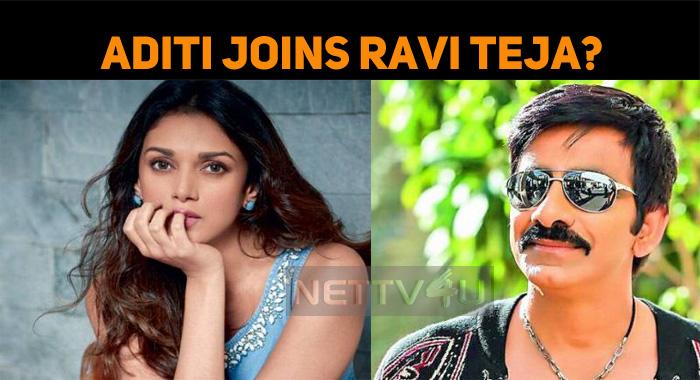 Ravi Teja Joins Aditi Rao Hydari?