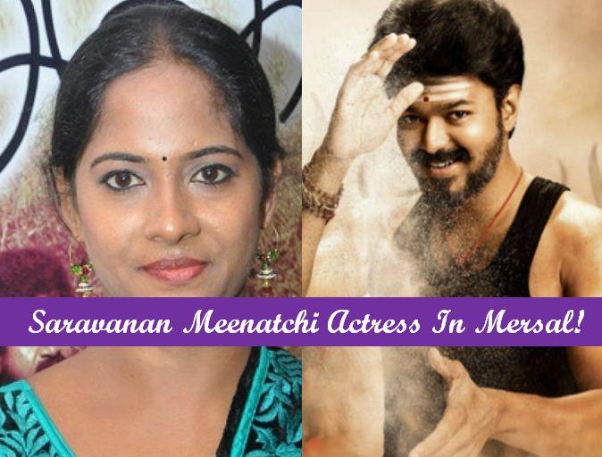 Vijay TV  Actress In Vijay's Mersal!