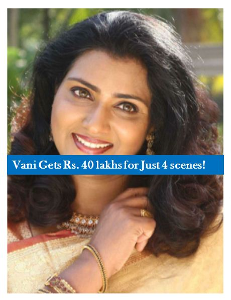 Vijayakanth Heroine Gets Rs. 40 Lakhs For Four Scenes!