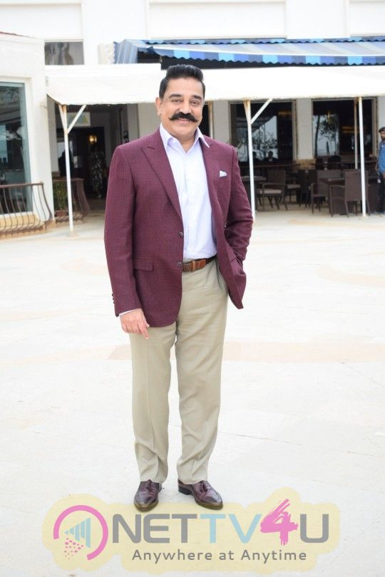Kamal Haasan Promotes Vishwaroopam 2 At Sun N Sand Photos